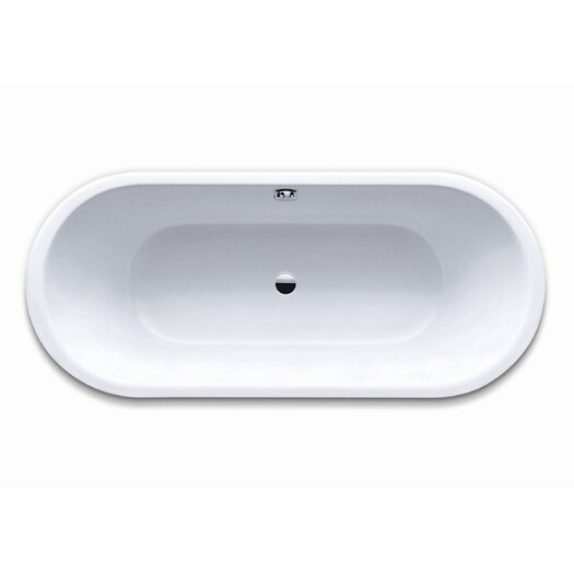 "Kaldewei Klassikduo 71"" x 32"" Soaking Bathtub"