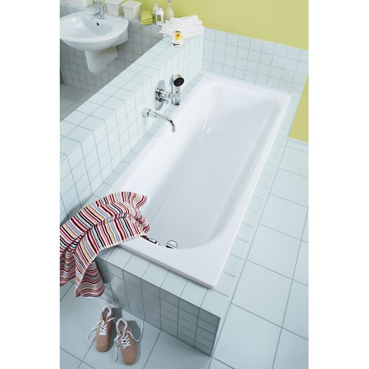 "Kaldewei Saniform Plus 69"" x 30"" Soaking Bathtub"