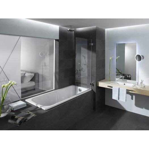 """Kaldewei Dyna 63"""" x 28"""" Soaking Bathtub"""