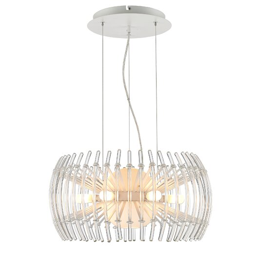 Golden Lighting Terra 12 Light Drum Pendant