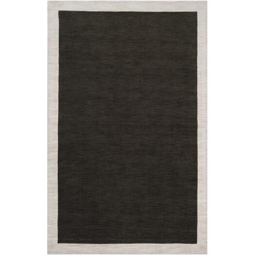 angelo:HOME Madison Square Coal Black/Oatmeal Area Rug