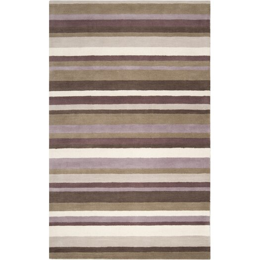 angelo:HOME Madison Square Dark Brown Area Rug