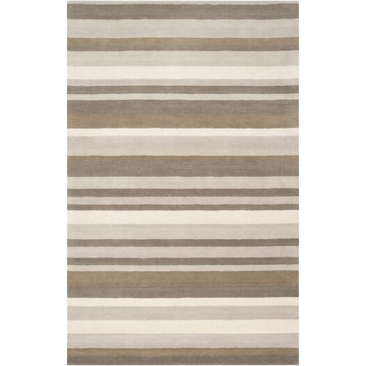 angelo:HOME Madison Square Brindle Brown & Tan Area Rug