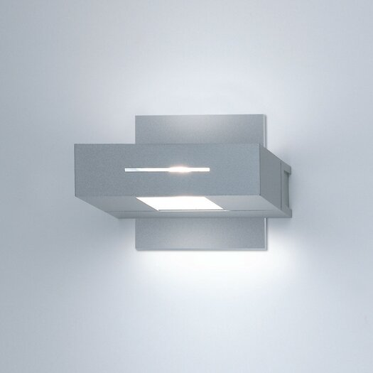 Zaneen Lighting Wall Bloc Horizontal Contemporary 1 Light Wall Sconce