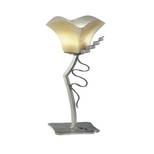 "Zaneen Lighting Rovigo Single Light 24"" H Table Lamp with Bell Shade"