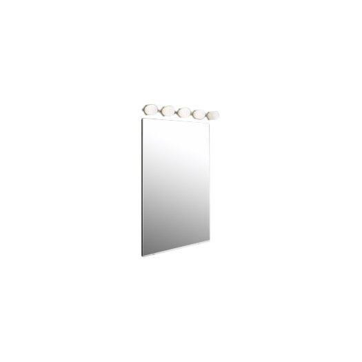 "Zaneen Lighting Bano 35"" 5 Light Contemporary Vanity Light"