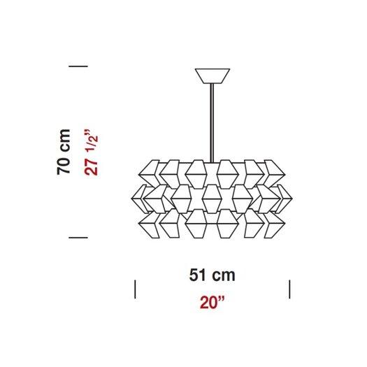 Zaneen Lighting Agave Pendant