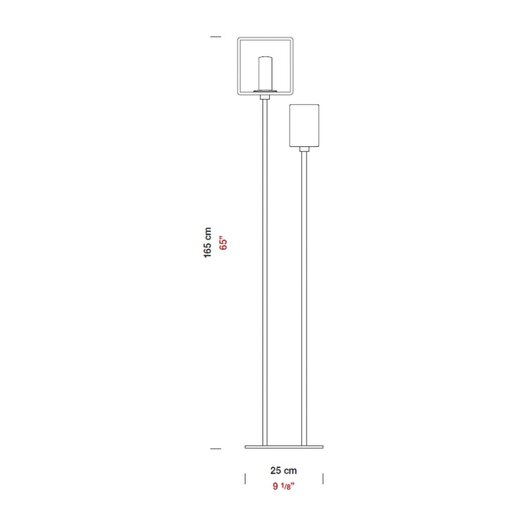 Zaneen Lighting Domino Floor Lamp