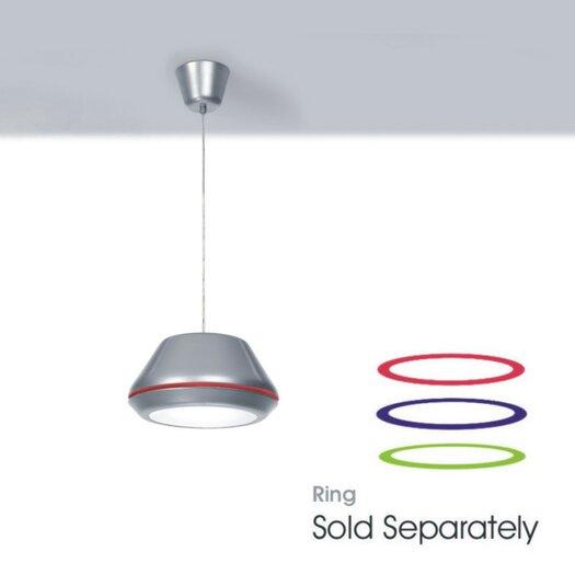 Zaneen Lighting Spool 1 Light Bowl Pendant