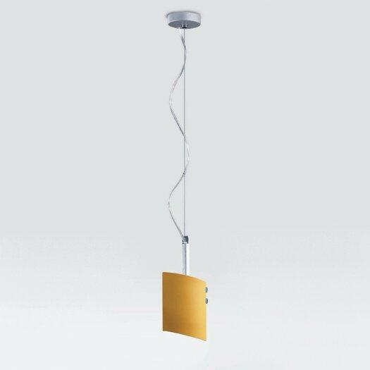 Zaneen Lighting Lina Single Light Pendant in Brushed Nickel