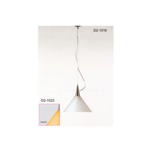 Zaneen Lighting Prima 1 Light Bowl Pendant
