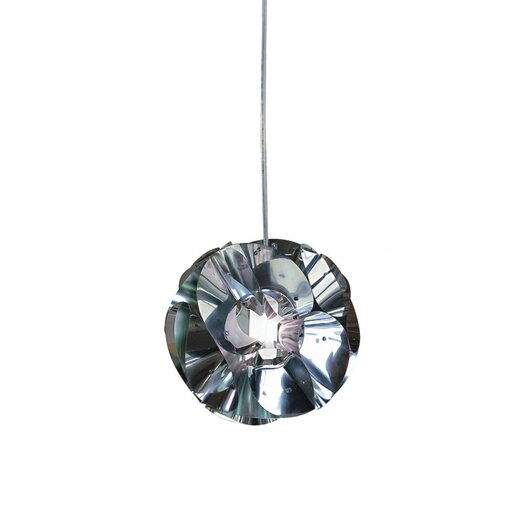 Zaneen Lighting Floral 1 Light Globe Pendant