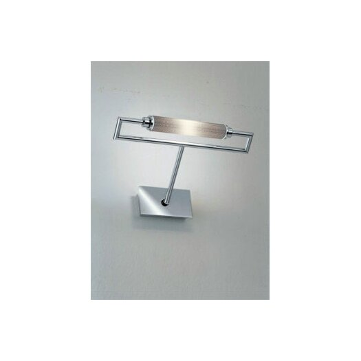 Zaneen Lighting Glim Wall Sconce in Metallic Gray