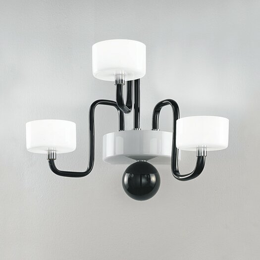 Zaneen Lighting Guggenheim 3 Light Wall Sconce