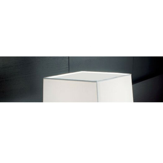Zaneen Lighting Carre Accessory Glass Screen in White