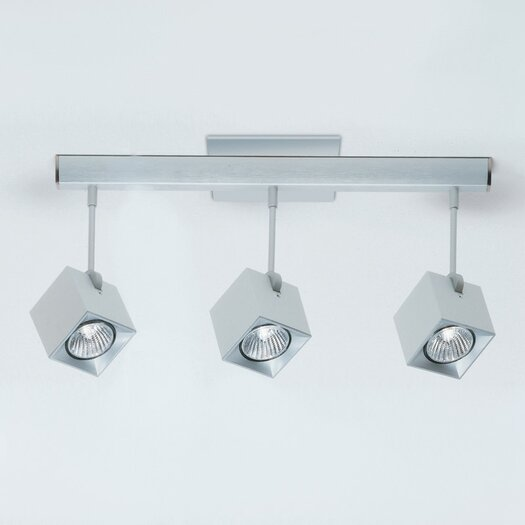 Zaneen Lighting Dau Spot Three Light Flush Mount