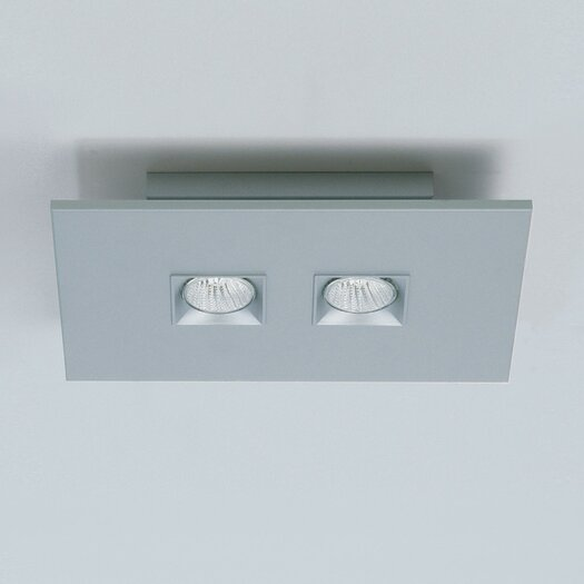 Zaneen Lighting Polifemo Two Light Ceiling Flush Mount
