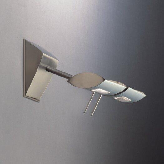 "Zaneen Lighting Ra 4.5"" Contemporary 2 Light Wall Sconce"
