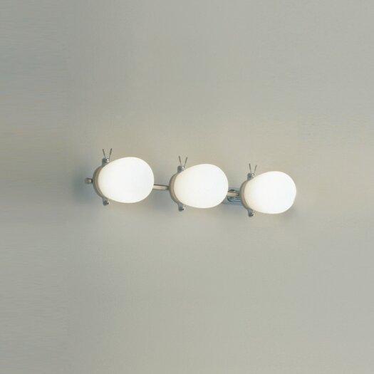 "Zaneen Lighting Bano 19"" 3 Light Contemporary Vanity Light"