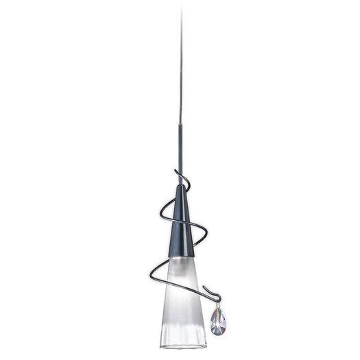 Zaneen Lighting Flute 1 Light Mini Pendant