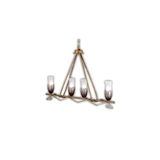 Zaneen Lighting Torino 4 Light Kitchen Island Pendant