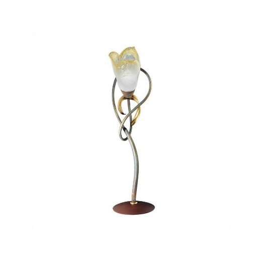 """Zaneen Lighting Lombardia Single Light 26"""" H Table Lamp with Bell Shade"""