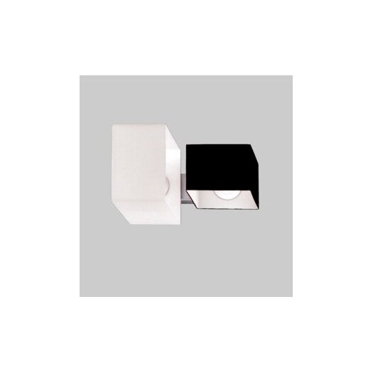 Zaneen Lighting Domino 2 Light Outdoor Flush Mount  /  Wall Sconce