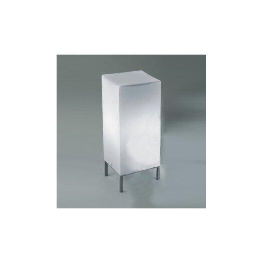 "Zaneen Lighting Kubik 13.75"" H Table Lamp with Rectangular Shade"