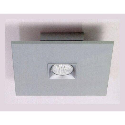 Zaneen Lighting Polifemo Flush Mount in Metallic Gray