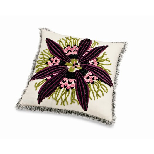 Passion Flower Cushion 16