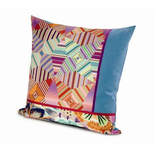 Missoni Home Girandole Noceda Pw Cotton Throw Pillow