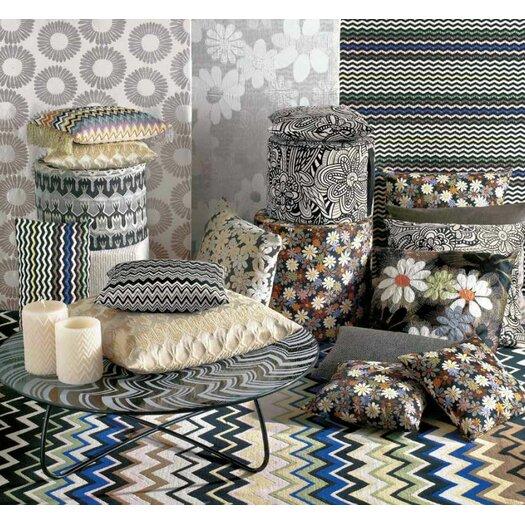 Missoni Home Golden Age B&W Ormond Throw Pillow