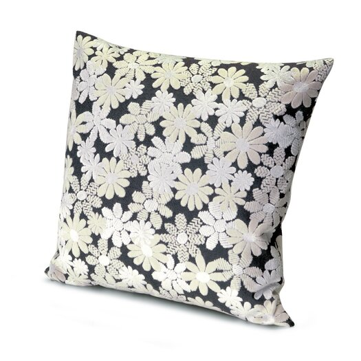 Missoni Home Golden Age B&W Odomez Throw Pillow