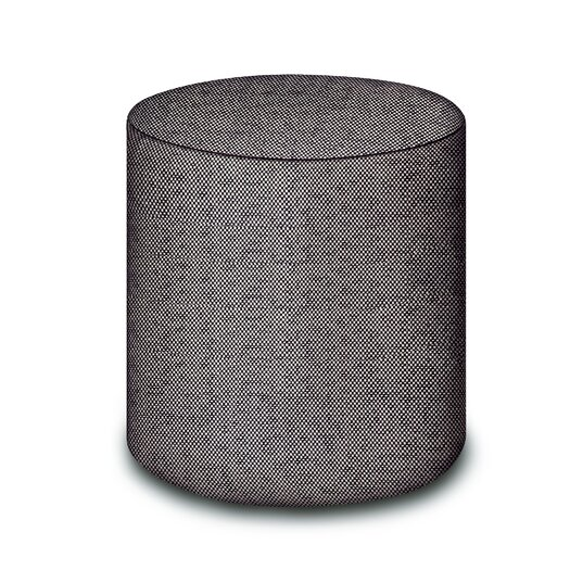 Missoni Home Golden Age B and W Olivet Pouf Ottoman