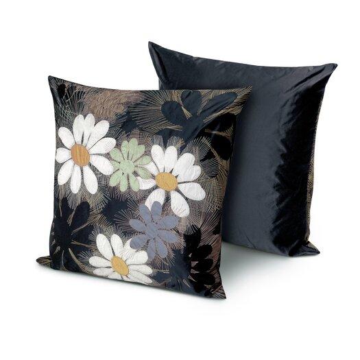 Golden Age B&W Orly Throw Pillow