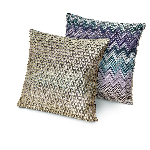 Missoni Home Master Classic 150 2 Piece Jarris and Jamilena Throw Pillow Set