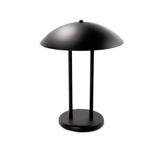 """Advantus Corp. Ledu Two-Pole Dome 16.25"""" H Table Lamp with Bowl Shade"""