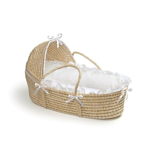 Badger Basket Hooded Moses Basket
