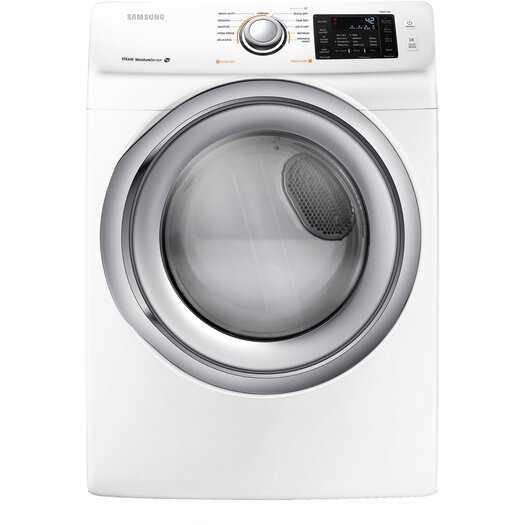 Samsung 7.5 Cu. Ft. Gas Dryer with Steam Drying Technology