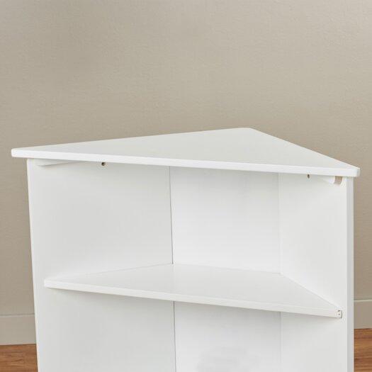 "Gift Mark Corner 36"" Bookcase"