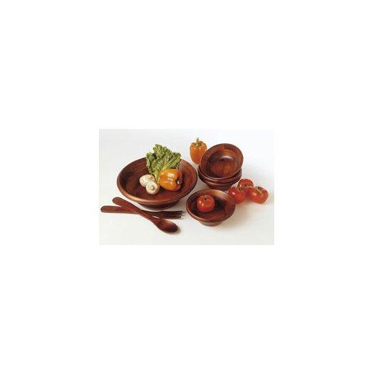 Lipper International Cherry Salad Bowl 7 Piece Set