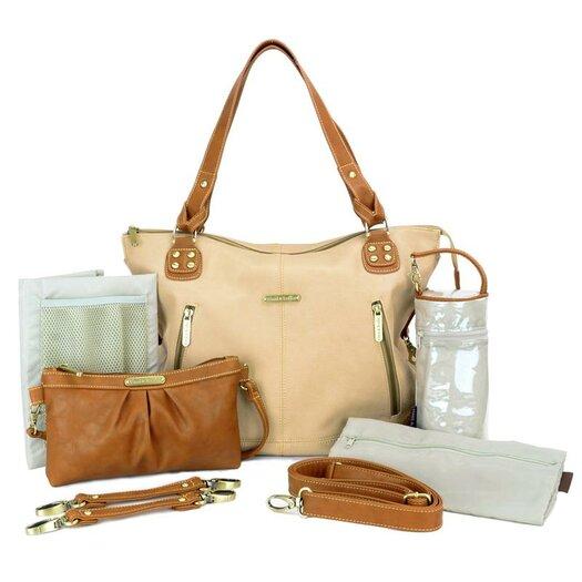 Timi and Leslie Kate Convertible Diaper Bag in /Saddle