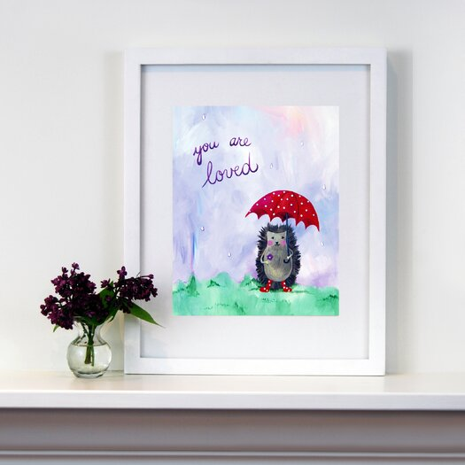 Cici Art Factory Words of Wisdom You are Loved Paper Print