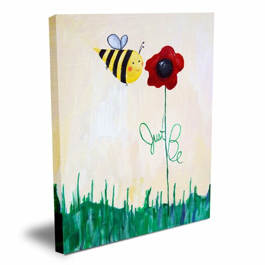 Cici Art Factory Words of Wisdom Just Be Canvas Art