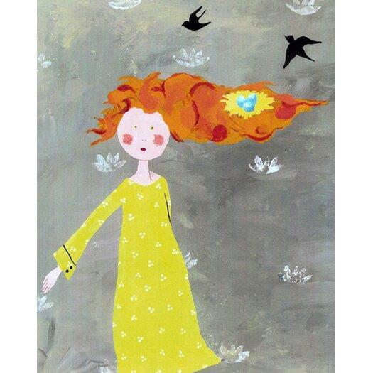 Cici Art Factory Bird's Nest Paper Print