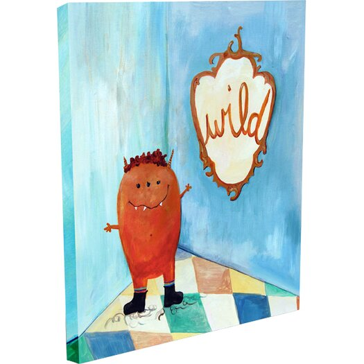 Cici Art Factory Words of Wisdom Wild Canvas Art