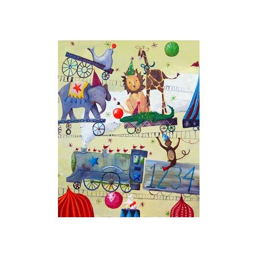 Cici Art Factory Circus Train Paper Print