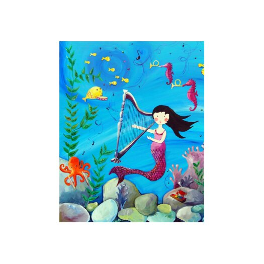 Cici Art Factory Wit & Whimsy Mermaid Canvas Art