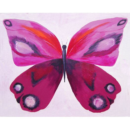 Cici Art Factory Emperor Butterfly Giclee Canvas Art