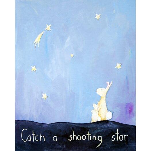 Cici Art Factory Words of Wisdom Catch a Shooting Star Paper Print
